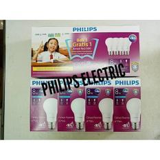 Lampu Philips Led 8Watt 8W 8 Watt 8 W 1 Paket Isi 4 - 76E3ea