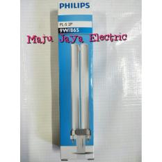Lampu Tusuk 2 Pin Philips Pls Pl-S 2P 9 Watt 9 W Putih Fitting G23 - 6Beac9
