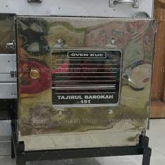 Laris 102 - Oven Stainless Steel atau Oven Tangkring Terbaru - Bonus 3 Pcs Loyang - Silver