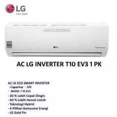 LG AC SPLIT 1 PK INVERTER WHITE-T10EV3/WH GARANSI RESMI