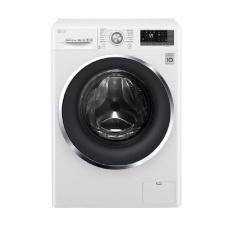 LG FC1409S3W Mesin Cuci Front Loading - 9 Kg - Steam Function - Putih - Khusus Jabodetabek