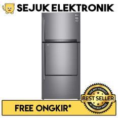 LG GC-A432HLHU Lemari Es / Kulkas 2 Pintu Door-in-Door™ - Inverter Linear - 444 Liter (JADETABEK ONLY)
