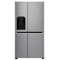 LG GC-L247CLCV Kulkas Side By Side 687 L - Dispenser - Platinum Silver - Khusus Jabodetabek