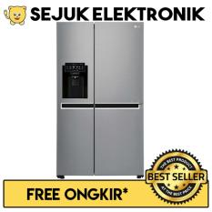 LG GC-L247CLCV Lemari Es - Kulkas Side by Side - In-door Ice Maker - 668 Liter (JADETABEK ONLY)