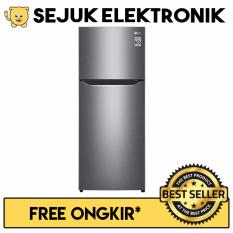 LG GN-B200SQBB Lemari Es / Kulkas Smart Inverter Compressor 2 Pintu - 225 Liter (JADETABEK ONLY)