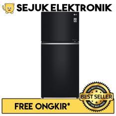 LG GN-C422SGCN Lemari Es / Kulkas 2 Pintu Door Cooling+™ - 416 Liter (JADETABEK ONLY)