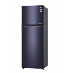 LG KUlkas Dua Pintu GN-C372SQCN - 169cm - Hitam Ungu