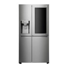 LG Kulkas Side by Side GC-X247CKAV InstaView Door in Door - Dispenser - Silver