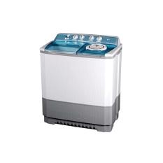 LG Mesin Cuci 2 Tabung P120R - Putih - Khusus Jadetabek