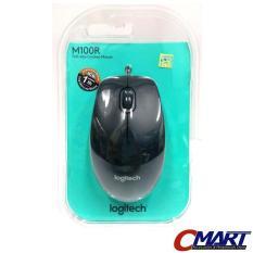 Logitech m100r Wired Mouse Logitec kabel mous m100 m 100 100r