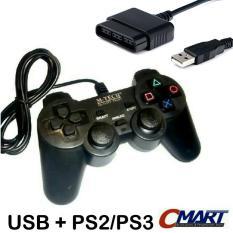 M-Tech Stick Game Controler USB + PS2 Joystick Joystik MTC-GP-UBPS2SV