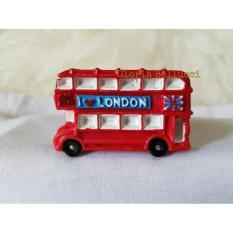Magnet Kulkas Negara Big Ben Bus London Inggris - 69Ac79