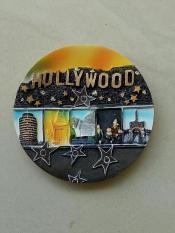 Magnet / tempelan kulkas Hollywood souvenir Amerika