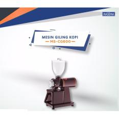 Toko Masema Mesin Gilingan Kopi Listrik Coffee Grinder Mssc 600 Indonesia