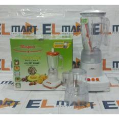 Maspion blender 2in1 gelas mika MT1207