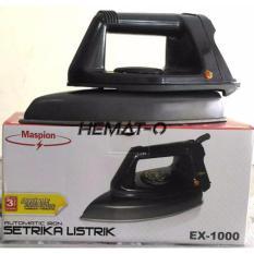 Maspion EX 1000 Setrika Murah Berkualitas (Dry Iron)