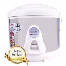 Beli Maspion Magic Com Rice Cooker Penanak Nasi 1 2 Liter 350 Watt Garansi Resmi Maspion Silver Mrj109Ss Maspion Asli