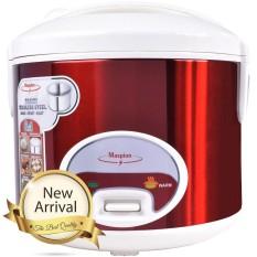 Maspion Magic Com,Rice Cooker,Penanak Nasi 1.8 Liter 395 Watt Merah(Garansi Resmi Maspion) – MRJ208MS