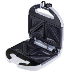 Maspion Sandwich Toaster Pemanggang Roti / Sandwich 350 Watt MT-206 - Putih