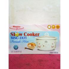 MASPION Slow Cooker MSC 1835 - 3.5 Liter