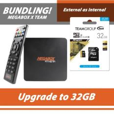 Megabox Athena Android Tv Box - Internal 32Gb Expand Dengan Micro Sd - B55E76