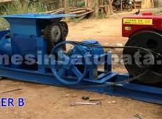 Mesin Cetak Bata Type A3 + Mesin Diesel 24 HP