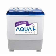 Mesin Cuci Aqua Sanyo 2 Tabung 9 Kg Qw-980xt