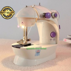 Mesin Jahit Led Serbaguna Mini Portable Mini Sewing Machine GT 202 GT202 Paling Laku Paling Laris - 4 ini 1