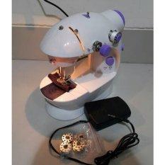 Mesin Jahit Mini Portable Gt-202/Fhsm-202 +acc + lampu