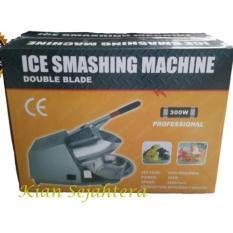 Mesin serut es -  ice crusher double blade