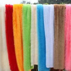 Setengah harga meter Beludru Merak kain wol beludru PV Plush bahan kain kain dekoratif Kain Latar Belakang Lemari perhiasan taplak