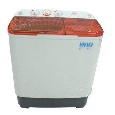 Review Midea Mta77P1302 Mesin Cuci 2 Tabung 6 Kg Putih Merah Midea