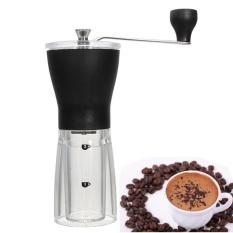Beli Mill Slim Manual Coffee Bean Grinder Hand Made Conical Burr Grinder Professional Conical Burr Ceramic Mill Intl Oem Online