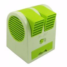 Mini AC Cooling Fan Portable - Hijau