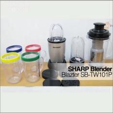 Mini Blender Multi Fungsi Sharp Blazter SB-TW101P - Stainless Steel