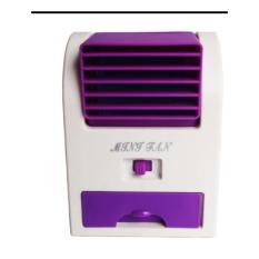 Mini Fan AC Portable With Fragrance - Ungu