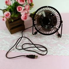 Mini Fan USB Kipas Angin Kecil Model Besi
