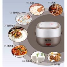 Harga Mini Rice Cooker Portable Multifunction Egg Boiler 2 Susun Yang Murah Dan Bagus