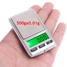MINI SCALE 200g / 0.01g - Timbangan Emas Digital Super Kecil 0,01g