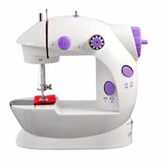 Toko Mini Sewing Machine 4In1 Portable Sm 202A Mesin Jahit 4In1 Mini Putih Online Terpercaya