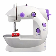 Toko Mini Sewing Machine 4In1 Portable Sm 202A Mesin Jahit 4In1 Mini Putih Murah Banten