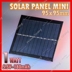 Panel Surya 6 V 100ma 06 Watt Modul Sel Kecil Charger Dibetulkan ... - Kenika PANEL SURYA 20WP / 18V. Source · Mini Solar Panel Cell 5.5V 180Ma 1W Phone ...