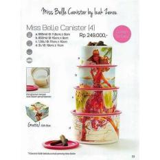 Miss Belle Canister Tupperware - 3736E6