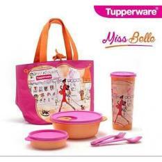 Miss Belle Lunch Box Kotak Bekal Tupperware - D939ca