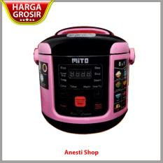 Cuci Gudang Mito R1 Digital Magic Com Rice Cooker 8 In 1 Kap 1 L Pink