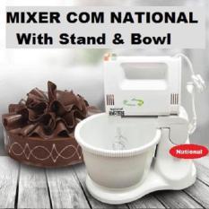 Mixer Com - Mixer Dengan Mangkok Putar National