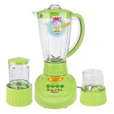 Cara Beli Miyako Bl 152 Pf Ap Blender Plastik Pelumat 3 In 1 Kap 1 5 Liter Wet Mill Dry Mill Hijau