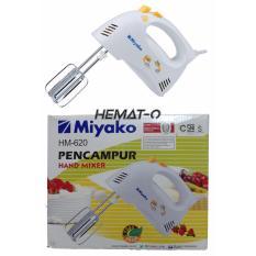 Diskon Miyako Hm 620 Hand Mixer Hemat O Shop Akhir Tahun