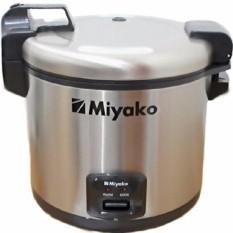 Miyako Rice cooker Jumbo 6 liter / Magic Com MCG-171 - Silver