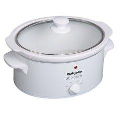 Miyako SC-510 Slow Cooker - Putih - Gratis Pengiriman  Surabaya, Mojokerto, Kediri, Madiun, Jogja, Denpasar